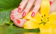 Mini or Regular Mani-Pedi or Gel Manicure and Regular Pedicure at Stevee Danielle Hair and Make Up (Up to 58% Off)