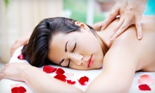 Massage with Wine and Option for Facial or Hand-and-Foot Treatment at Healing Hands Massage & Wellness (Up to 64% Off)