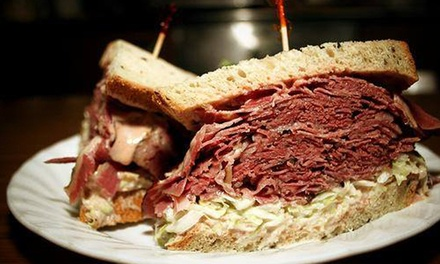 Dine-In or Jewish Deli Food or Party Trays at Ben & Irvs Deli (Up to 50% Off)