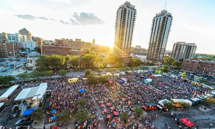 First Friday Food Truck Festival at Old National Centre Parking Lot on Friday, September 5 (Up to 63% Off)
