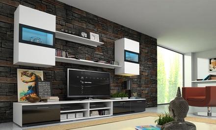Conjunto de móveis de sala disponível em oito modelos e duas cores desde 499€