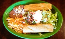 Mexican Lunch or Dinner for Two or $12 for $25 Worth of Mexican Cuisine at El Camino Mexican Restaurant