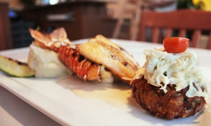 Food and Drink at The House of Seafood    (Up to 42% Off). Two Options Available.