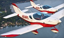 Discover Flying Lesson or Adventure Flight Lesson from Sport Flying USA (Up to 63% Off)