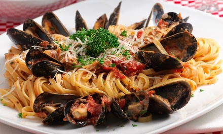 Italian and Greek Cuisine at Lunch, Dinner, or for Carryout for Two or Four at Primo (Up to 47% Off)
