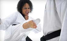 10 Tae Kwon Do Classes or 10 or 20 Kardio Kickboxing Classes at Master Cho's Talium (Up to 86% Off)