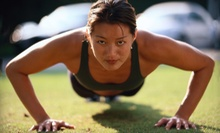 One or Three Months of Unlimited Boot-Camp Classes from Accomplish Fitness and Boot Camp (Up to 74% Off)