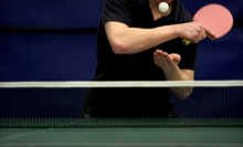 5 or 10 Visits to Yang's Table Tennis Club (Up to 69% Off)