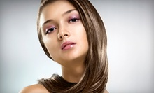 Haircut with All-Over Color or Partial or Full Highlights or Lowlights from ZeeAna at Lomantini (Up to 61% Off)