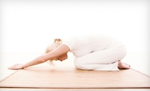 10 Yoga, NIA, or Aikido Classes, or One Month of Classes at Abundant Joy Yoga & Wellness (Up to 76% Off)