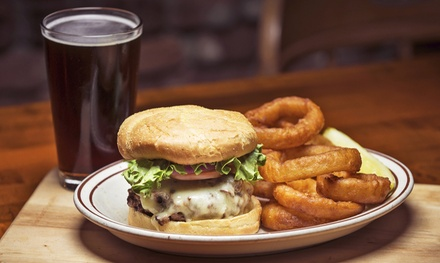 $18 for Specialty Burgers and Craft Beers for Two at Brewburgers ($35.90 Value)