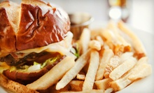 Burgers and American Bistro Food for Two or Four at Relish Burger Bistro (Up to 51% Off). Four Options Available.