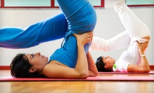 10 Drop-In Yoga Classes, One Month of Unlimited Classes, or One Year of Classes at SAVY International (Up to 88% Off)