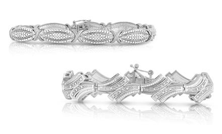 1/4 CTTW Diamond Bracelet