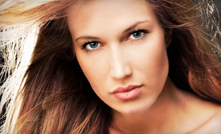 Haircut and Blowout with Color, Partial Highlights, or Highlights and Lowlights at Method Hair Studio (Up to 58% Off)