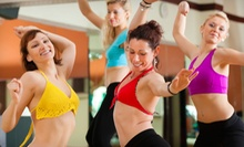 5 or 10 Classes at Zumba with Angela and Lyza (Up to 56% Off)