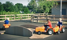 $29 for a Family Fun Package for Four with Farm Attractions and Food at Huber's Orchard &amp; Winery (Up to $76.30 Value)