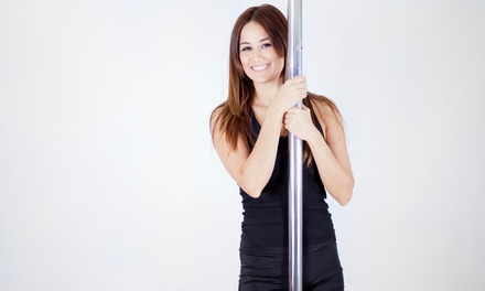 5 or 10 Pole or Aerial Fitness Classes or Month of Pole Fitness Classes at Sky High Studios (Up to  59% Off)
