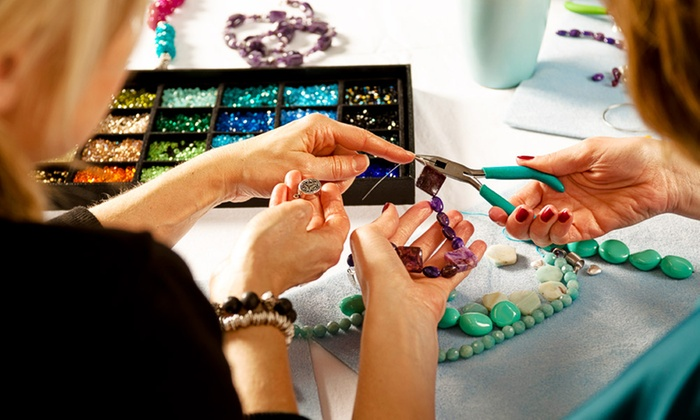The Bead Company - Glasgow: Jewellery Making: Two (£15) or Three (£20) Classes at The Bead Company (Up to 67% Off)