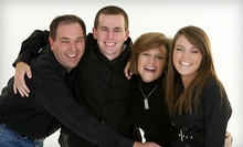 $59 for 45-Minute Family Photo Shoot for Up to Five and Prints at Kemmetmueller Photography Inc. ($175 Value)