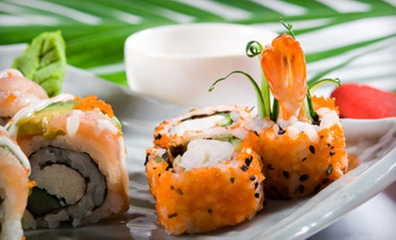 Sushi, Japanese Food, and Drinks at Sushi Yama (Up to 51% Off). Two Options Available.