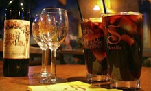 $77 for a Flamenco Dinner Show for Two with Three-Course Dinner, Sangria, and Club Entry at Cafe Sevilla ($155 Value)