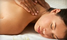 60- or 90-Minute Swedish or Deep-Tissue Massage at Heaven's Touch Massage Therapy (Up to 51% Off) 