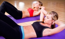 $29 for a One-Month Gym Membership with Unlimited Zumba and Boot-Camp Classes at UPEC Fitness ($60 Value)