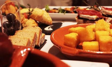 Tapas na Língua — Matosinhos: menu de tapas para duas pessoas com couvert, acompanhamento, bebidas e cafés desde 12,90 €