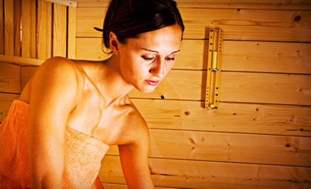 5 or 10 Infrared-Sauna Sessions with Eucalyptus Showers at The Raven Spa (Up to 78% Off)
