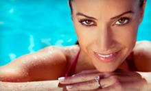 Two or Four Airbrush-Tanning Sessions at The Heat Tanning (Up to 60% Off)