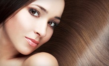 One Brazilian Blowout with Option for a Color Touchup, or Two Brazilian Blowouts at Diva Salon (Up to 66% Off)