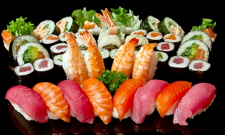 King Sushi — Campo Pequeno: all you can eat de sushi com bebidas, sobremesas e cafés para dois ou quatro desde 29€