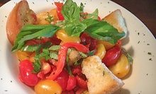 $25 for $50 Worth of Italian Dinner at Angelina's Italian Restaurant and Pizzeria