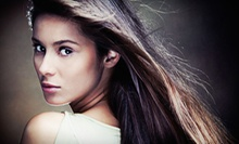 Shampoo and Style with Conditioning or a Color Service, or Keratin Treatment at J. Michael The Salon (Up to 63% Off)