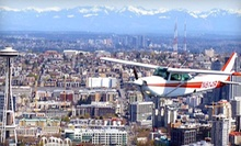 30- or 60-Minute Sightseeing Flight for Up to Three from Seattle Scenic Flights (Up to 64% Off)