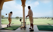One or Two Buckets of Balls with Beer or Soda, or 30- or 60-Minute Lesson at The Aqua Golf Driving Range