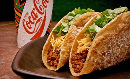 $10 for a $20 Gift Card for Mexican Food at Jimboy&#x27;s Tacos. 16 Locations Available.