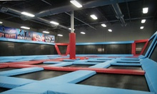 Two Hours of Trampoline Play for One, Two, or Four at Defy Gravity (Up to 52% Off)