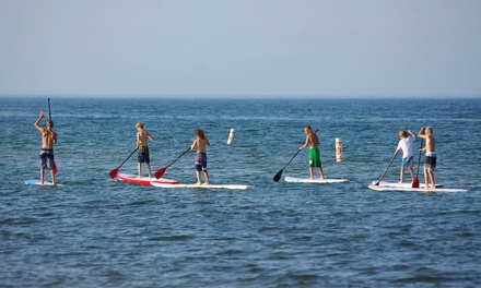 One- or Two-Day Standup Paddleboard Rental for One or Two at MACkite (Up to 55% Off)