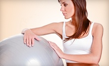 10 Classes, One Month of Classes, or Month of Classes with Massage and Cleanse at Fit With Jenny (Up to 77% Off)