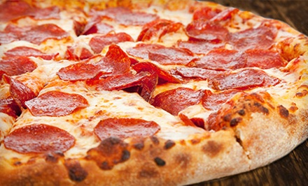 $15 for a Three-Visit Punch Card for Pizza and Italian Food at Dean's Pizza ($30 Value)