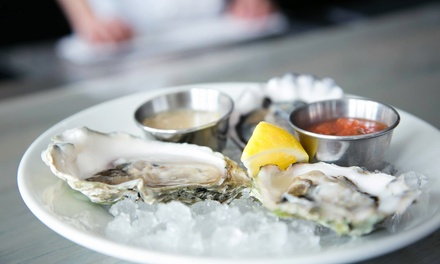 Oysters, Seafood, and Steak for Two, Four, or Six at Bow & Stern Oyster Bar (Up to 54% Off)