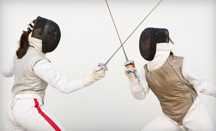 One or Three Months of Unlimited Fencing Classes at Sheridan Fencing Academy (Up to 74% Off)