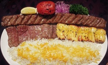 Mediterranean Food at Persian Room (Half Off). Three Options Available.