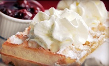 Sunday Brunch for Two, Four, or Six, or $15 for $30 Worth of Greek Cuisine at Santorini