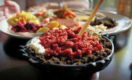 Ethiopian Food for Two or Four at Merkamo Ethiopian Bistro (Half Off)