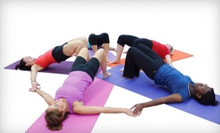 10 or 20 Pilates or Boot-Camp Classes at Sculptura Women's Fitness (Up to 70% Off)