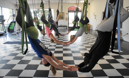 Three or Six Aerial-Fitness Classes at Tough Lotus (51% Off)