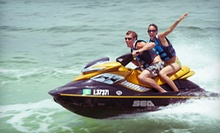 4- or 12-Hour Rental of One or Two Jet Skis at Aqua Ryderz (Up to 67% Off)